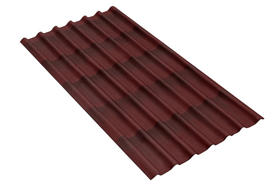 коричневый ондулин