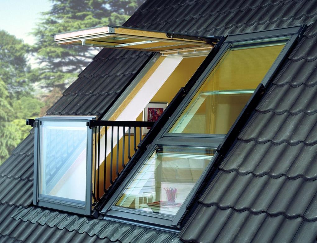 Картинки виды окна на крыше